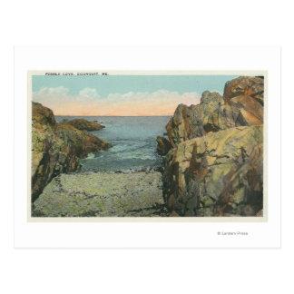View of Pebble Cove Postcard