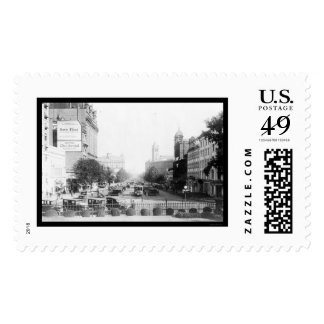 View of Pennsylvania Avenue from Treasury 1919 Postage Stamp