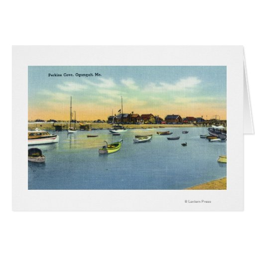 View of Perkins Cove Card