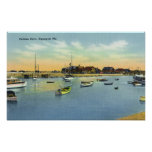 View of Perkins Cove Poster