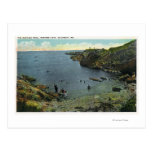 View of Perkins Cove, Swimming Scene Postcards