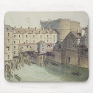 View of Petit Chatelet and the Petit Pont Mouse Pad