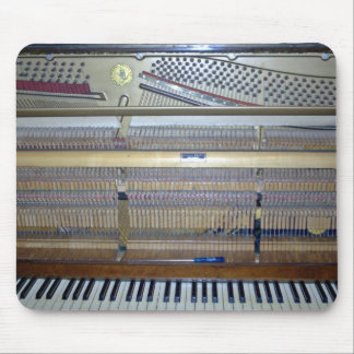 View of Piano while installation Mouse Pad