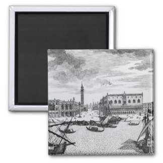 View of Piazza San Marco from the Bacino, Venice Magnet