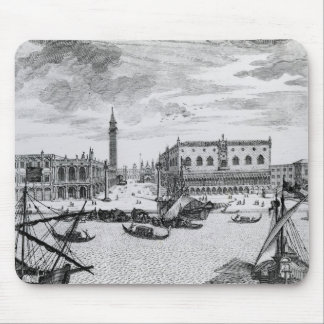 View of Piazza San Marco from the Bacino, Venice Mouse Pad
