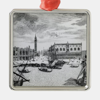 View of Piazza San Marco from the Bacino, Venice Christmas Ornaments
