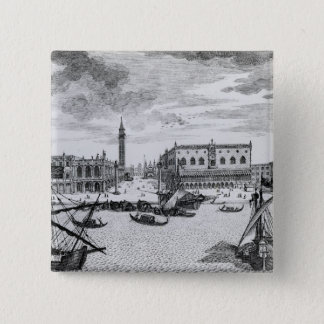 View of Piazza San Marco from the Bacino, Venice Pinback Button