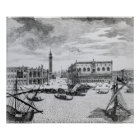 View of Piazza San Marco from the Bacino, Venice Poster
