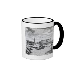 View of Piazza San Marco from the Bacino, Venice Ringer Mug