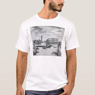 View of Piazza San Marco from the Bacino, Venice T-Shirt