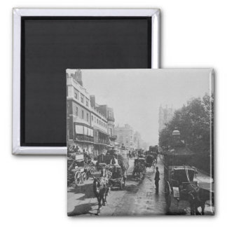 View of Piccadilly, c.1900 2 Inch Square Magnet