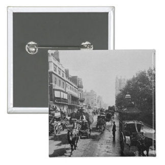 View of Piccadilly c 1900 Pinback Buttons