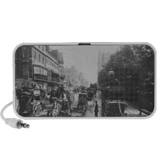 View of Piccadilly, c.1900 Mini Speaker