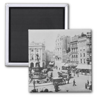 View of Piccadilly Circus, c. 1900 Fridge Magnets