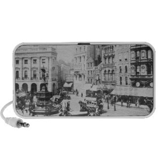 View of Piccadilly Circus, c. 1900 Speakers