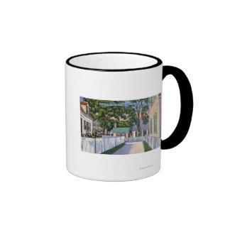 View of Picturesque Residences Ringer Mug
