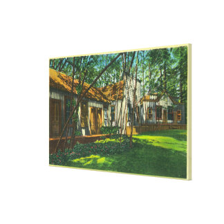 View of Pioneer Town at Big Trees Park Canvas Print