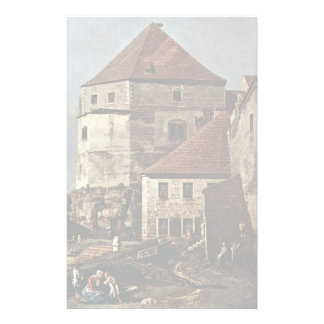 View Of Pirna Pirna From The Fortress Sunstone Personalized Stationery