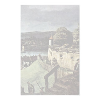 View Of Pirna Pirna From The Fortress Sunstone Custom Stationery