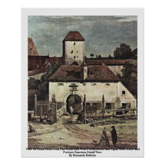 View Of Pirna Pirna From The South Side Poster