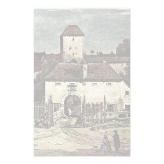 View Of Pirna Pirna From The South Side Custom Stationery