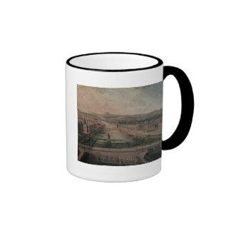 View of Place Dauphine and the Seine Coffee Mug