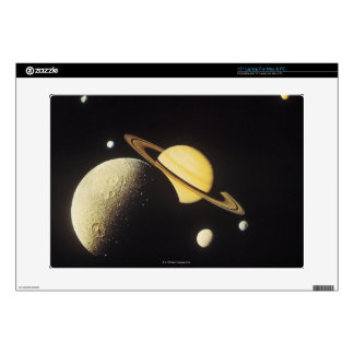 "view of planets in the solar system 15"" laptop decals"