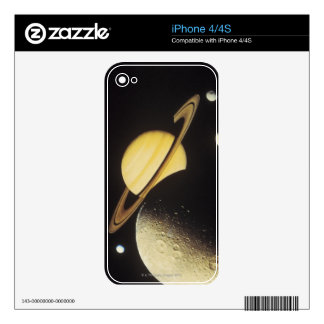 view of planets in the solar system iPhone 4S skins