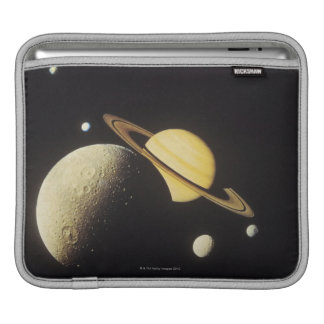view of planets in the solar system sleeve for iPads