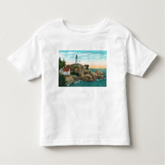 View of Point Atkinson Lighthouse T Shirt