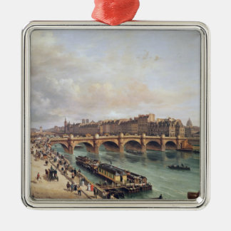 View of Pont Neuf, 1832 Metal Ornament