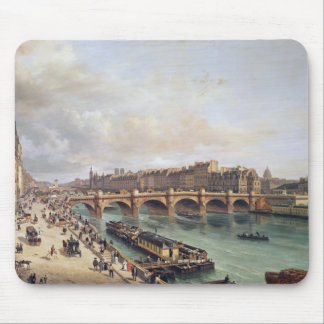 View of Pont Neuf, 1832 Mouse Pad