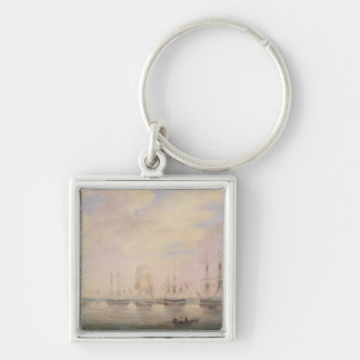 View of Port Adelaide, South Australia Keychain