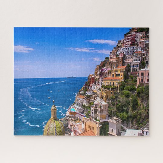 View Of Positano, Italy Jigsaw Puzzle