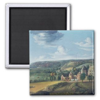 View of Potrel Manor, near Dragey in Normandy Refrigerator Magnets