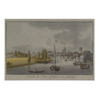 View of Potsdam, c. 1796 Poster