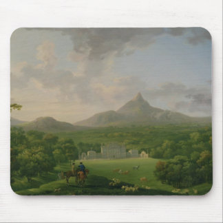 View of Powerscourt, County Wicklow, c.1760-2 (oil Mouse Pad