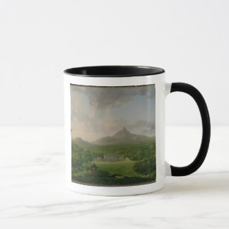 View of Powerscourt, County Wicklow, c.1760-2 (oil Mug