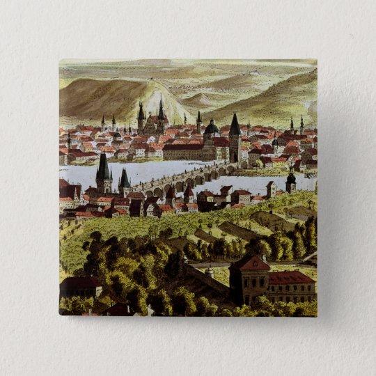 View of Prague Button