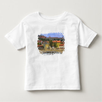View of Prague Castle and town by Vltava T Shirt