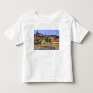 View of Prague Castle and town by Vltava Toddler T-shirt