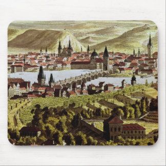 View of Prague Mouse Pad