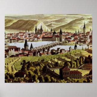 View of Prague Poster