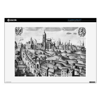View of Prague showing the Imperial Palace and the Decal For Laptop