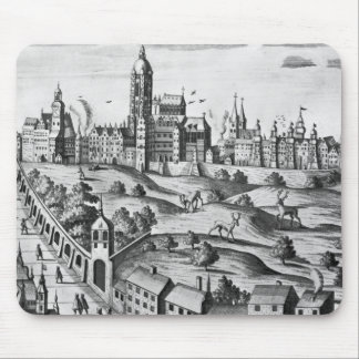 View of Prague showing the Imperial Palace and the Mouse Pad