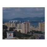 View of Pyongyang, North Korea Post Cards