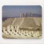 View of Pyramid B, Pre-Columbian Mouse Pad