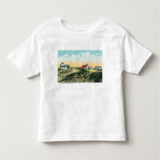 View of Race Point Coast Guard Station Toddler T-shirt