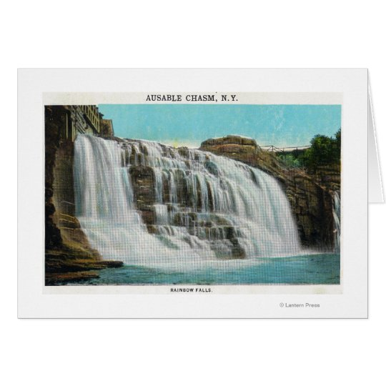 View of Rainbow Falls Card