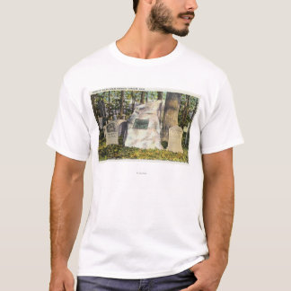 View of Ralph Waldo Emerson Gravestone T-Shirt